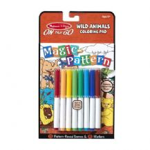 Magic Pattern - Wild Animals Colouring Pad